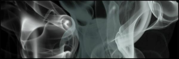 Black Smoke Banner 60x20