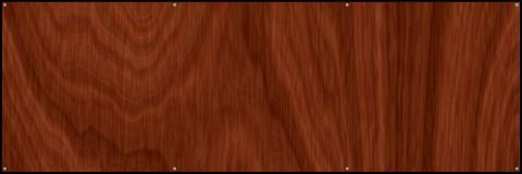 Regular Wood Grain Banner 60x20
