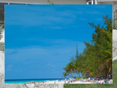 Beachfront Exterior Signs 24x18