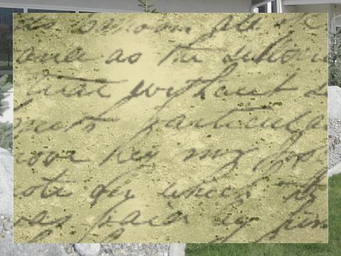 Handwritten Poem Exterior Signs 24x18