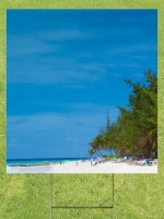 Beachfront Lawn Sign 18x24