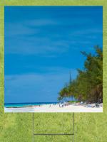 Beachfront Lawn Sign 18x24