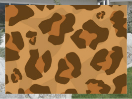 Classic Large Leopard Print Exterior Signs 24x18