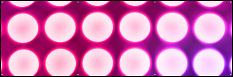 Pink Concert Lights Banner 60x20