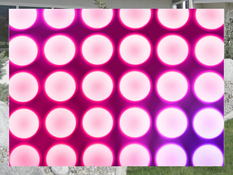 Pink Concert Lights Exterior Signs 24x18