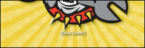 Team Dawg Banner 60x20