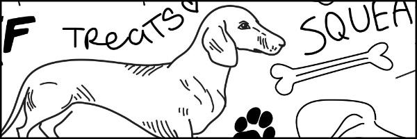 Good Dog Banner 60x20