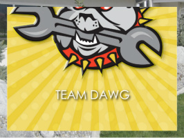 Team Dawg Exterior Signs 24x18