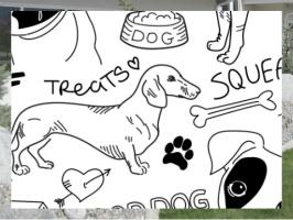 Good Dog Exterior Signs 24x18