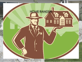 HOME RANGER REAL ESTATE Exterior Signs 24x18