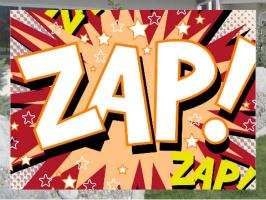 Zap! Exterior Signs 24x18