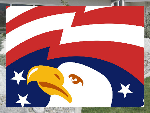 Bald Eagle Exterior Signs 24x18