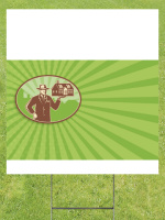 HOME RANGER REAL ESTATE Lawn Sign 18x24